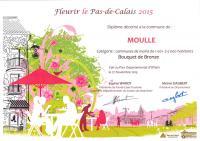 Moulle village fleuri