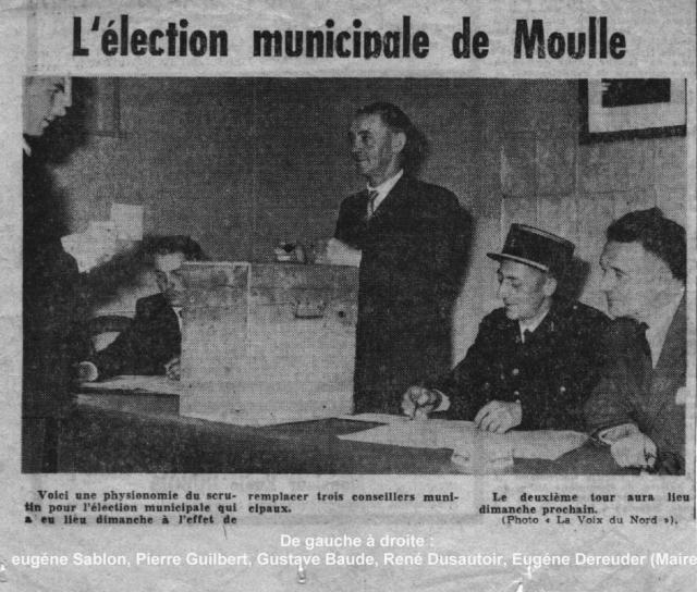 MOULLE ELECTION ANNÉES 60 À 70