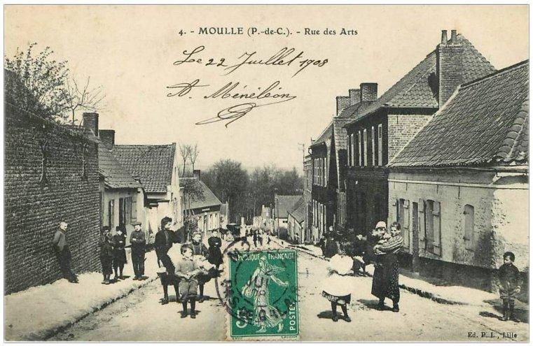 Moulle rue des arts 1908
