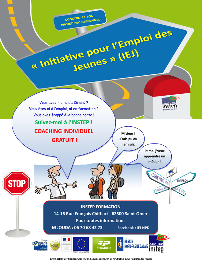 Affiche iej a4 st omer