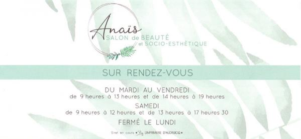 Anais salon de beaute 1