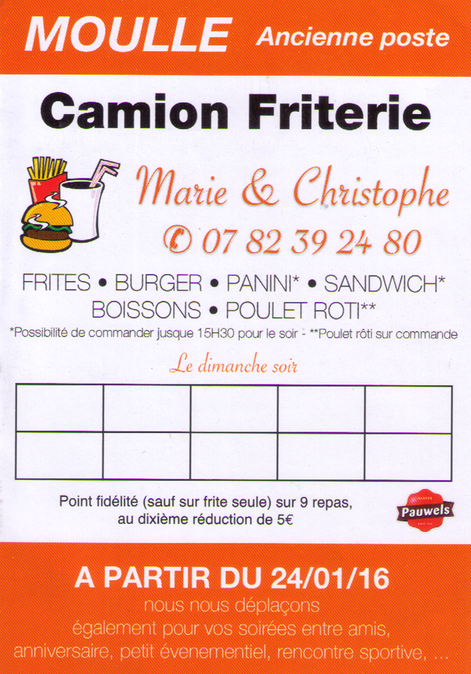 Friterie moulle
