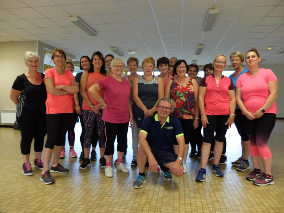 Photo groupe gym