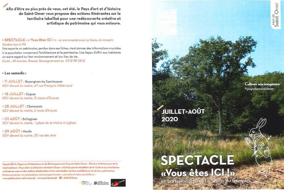 Spectacle vous etes ici